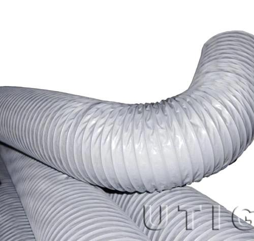 PVC coated polyester fabric ventilation hose