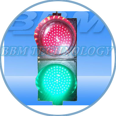 200mm red green traffic light