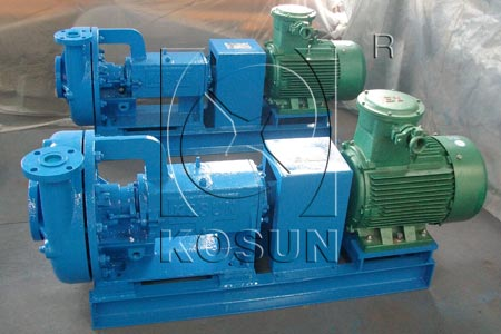 Drilling centrifugal mud pump