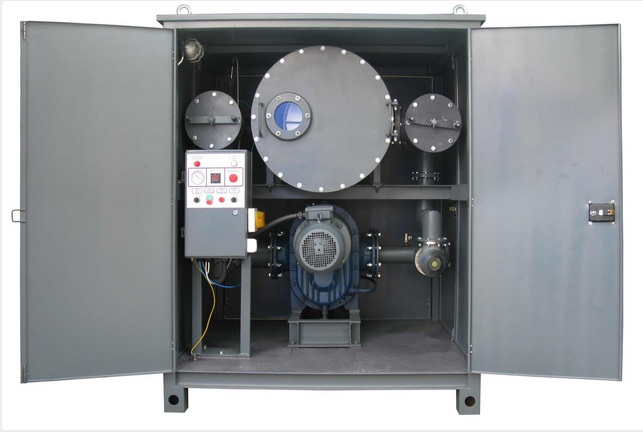 GlobeCore INEY transformer oil refrigeration unit