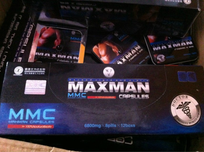 MAXMAN V Sex Capsules Exceed Viagra And Cialis
