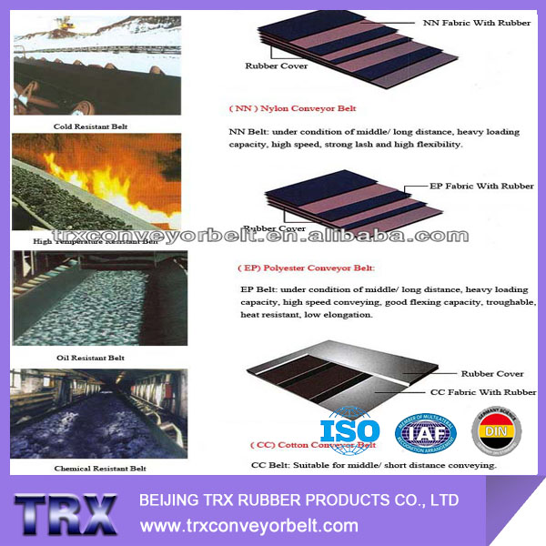 Ep (Polyester/Nylon) Conveyor Belt