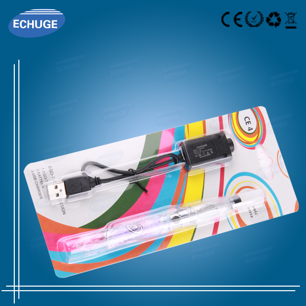 e cig kit ego Q k Colorful battery replacement CE4 CE5 atomizer Blister packing