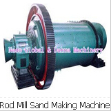 Rod Mill Sand Making Machine