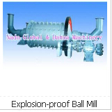 Explosion-proof Ball Mill