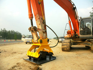earth rammer,hydraulic compactor for excavator
