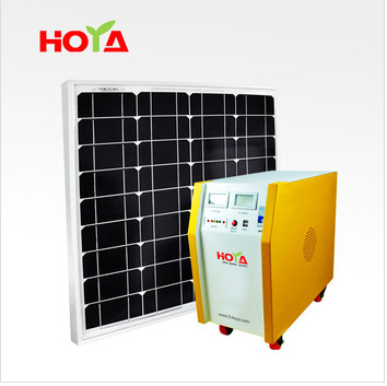 Music Module 100W Solar Systems for Domestic Use with High Quality Dual Speaker