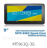 9 Inch Android Tablet PC MT963Q-3G