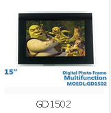 15 Inch Diagital Photo Frame GD1502