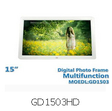 15 Inch Diagital Photo Frame GD1503HD