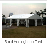 Small Herringbone Tent