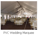 PVC Wedding Marquee