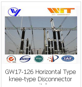 GW17-126 Horizontal Type knee-type Disconnector switch