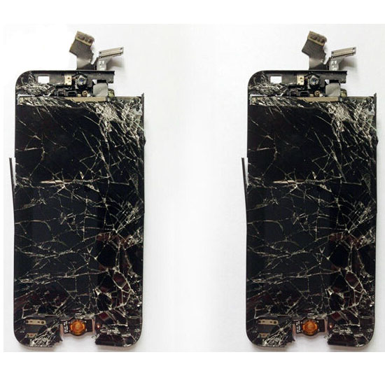recycle broken lcd screen for iphone 5c complete original
