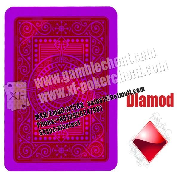 Modiano Texas Hold em Marked Cards For Contact Lenses