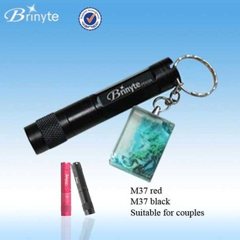 M37 CREE XM-L Q5 Keychain CREE Mini LED Keychain Flashlight