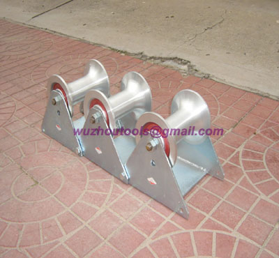 Heavy weight trench corner rollers,Cable Laying Equipment