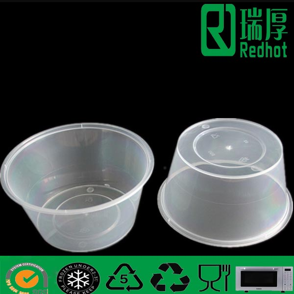 Plastic Deli Food Container for Resturants