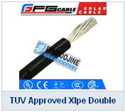 TUV Approved Xlpe Double Insulation Solar Cable