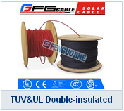 TUV UL Double-insulated Solar Cable Dc PV1-f