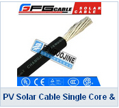 PV Solar Cable Single Core Double Core TUV Approved