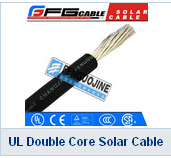UL Double Core Solar Cable For Photovoltaic Solar Panel