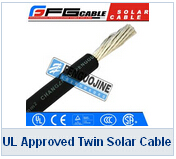 UL Approved Twin Solar Cable
