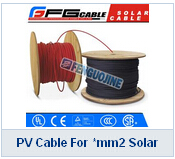 PV Cable For mm2 Solar Panel Connectors