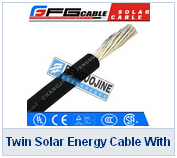 Twin Solar Energy Cable With TUV Certification