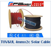 TUV UL 4mmx2c Solar Cable
