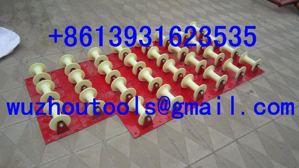 Cable Guide And Roller Stand,Cable Laying ,Corner Roller