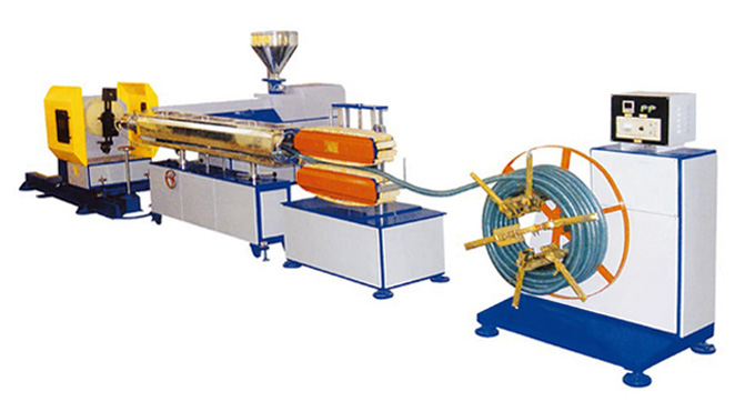 PVC Spiral Steel Wire Reinforced Hose Production Line