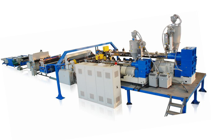 Multi-layer co-extrusion sheet &plate extrusion line
