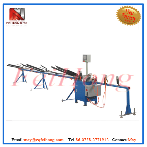 auto cutting machine for heater tubular