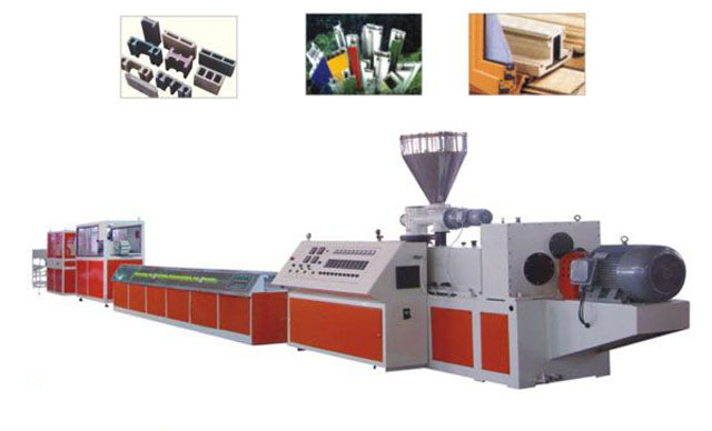 WPC Wood-plastic extrusion line