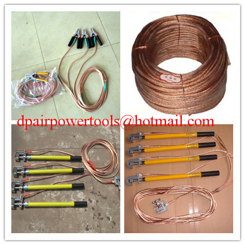 Earth rod and fitting&grounding devince,+copper wire+hook