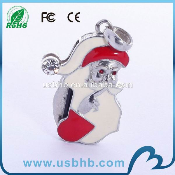 2gb promotional oem diamond jewelry usb flash drive
