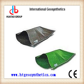 Geotextile fabric sand bag