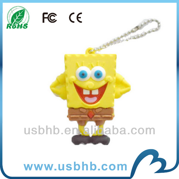 3D Cartoon USB Flash Drive 4gb 8gb with custom shape