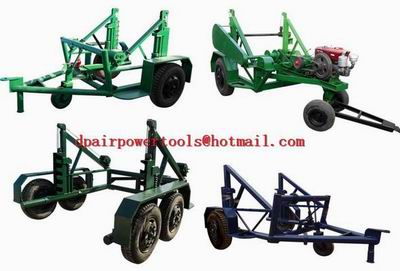 Cable Reel Trailer,Reel Cable Trailer,Pulley Carrier Trailer, Pulley Trailer