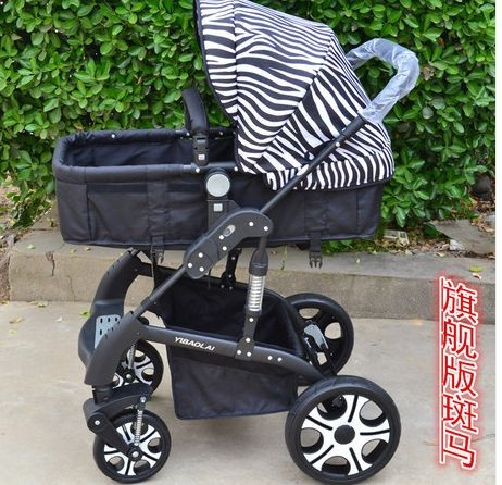 Babies' stroller with seat movable as carrier, suspicion function