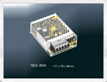 Enclosed Switching Power SupplyNES-35W