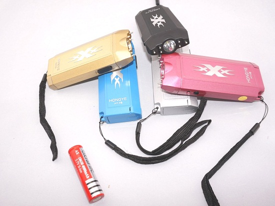 X6 Key Type Self-defense Flashlight