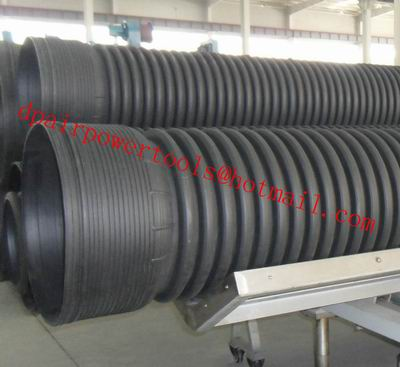 PE pipe PE pipe PE water supply pipe HDPE Double Wall Corrugated Pipe