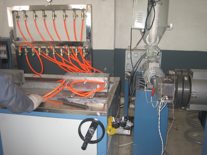 PVC Composite Co-extrusion Skirting Production Line