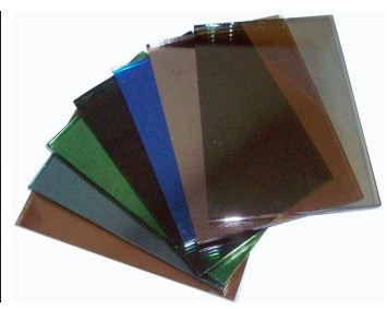 Tinted/Colored float glass