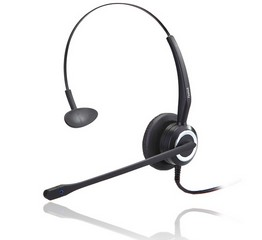 noise cancelling call center headset with 360 degree