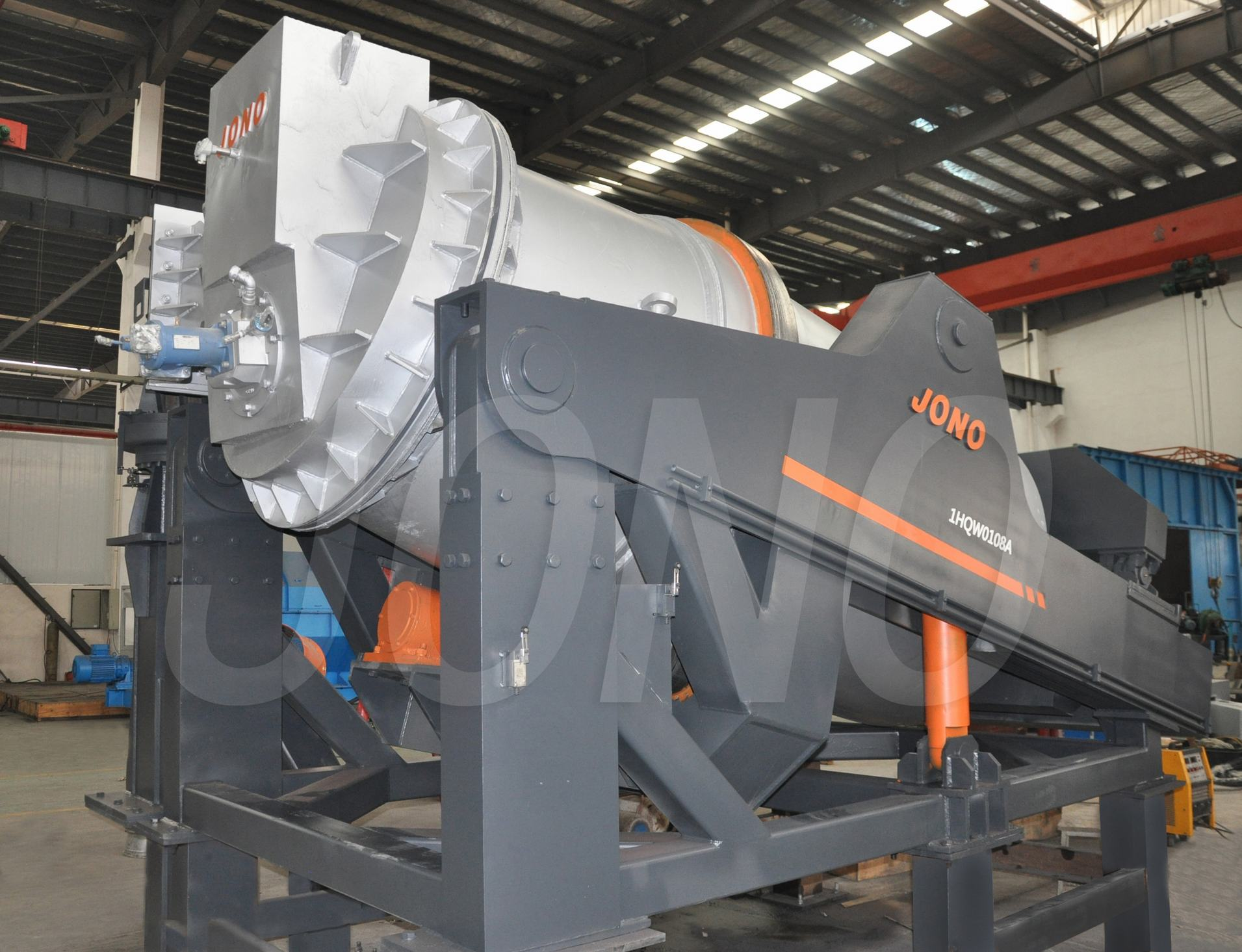 Universal Tilting Rotary Furnace