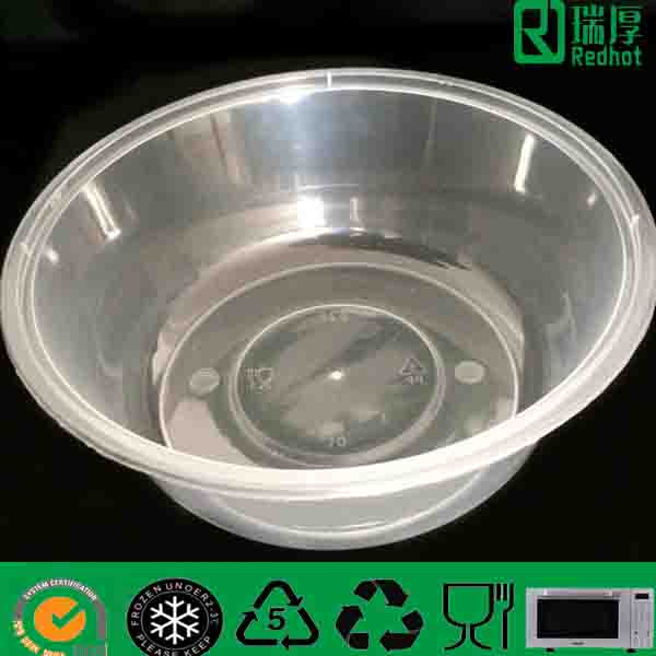 Supply Plastic Food Container with Lid 625ml
