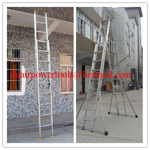 Aluminium ladder&Step Footplate ladder,Aluminium Telescopic ladder